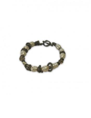 Pearl Beaded Italian Bracelet