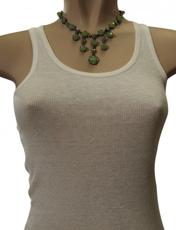 Green eastern necklace