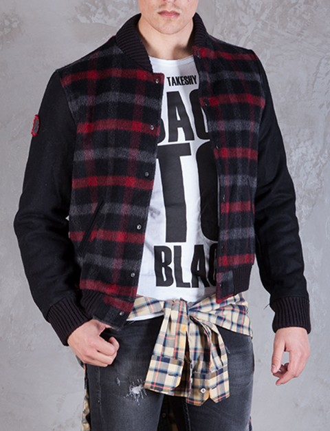 Takeshy Kurosawa Bomber Panno Jacket